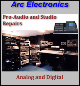 Pro Audio and Stage Equipment Repairs
