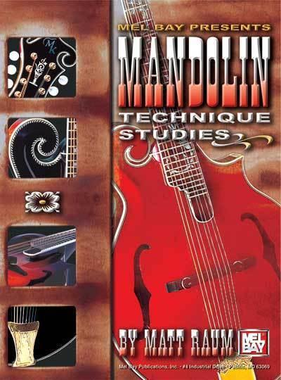 MANDOLIN TECHNIQUE STUDIES BOOK