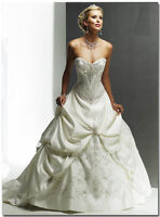 Maggie Sottero Wedding Dress & ALL Accessories - Monalisa Royale