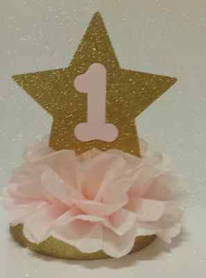Twinkle Twinkle Little Star Party Decorations (PRINCESS 1ST BIRTHDAY TWINKLE TWINKLE LITTLE STAR PARTY TABLE CENTERPIECE)