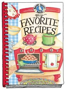 NEW Gooseberry Patch MY FAVORITE RECIPES Spiral Bound Blank Recipe Book