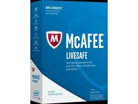 McAfee 1 year subscription