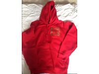James DeGale Team Chunky Boxing Hoodie Red - Size Small