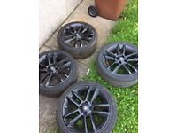 """Corsa 2013 limited edition 17"""" rims/tires/wheels"""