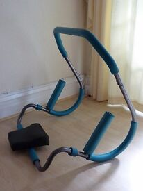 GYM EQUIPMENT - AB TRAINER WITH HEADREST