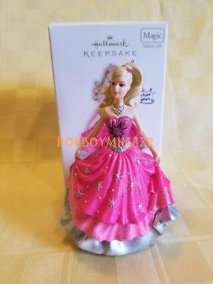 Hallmark 2010 Barbie A Fashion Fairytale Magic Christmas Ornament