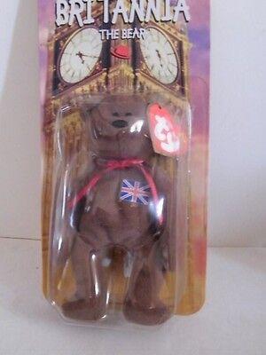 McDonalds 1999 TY Britannia The Bear Beanie Baby