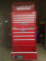 MASTERCRAFT TOOL BOX! BARLEY USED NO RUST OR SCRATCHES