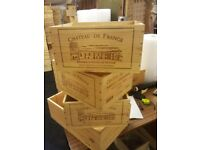 Reclaimed Apple Crates / Wine Boxes / Baskets and Trugs - ideal for Wedding Decorations, table piece