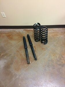 Shocks and springs for rear of 2015 Dodge 1500