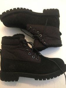 timberland noirs femme taille 7.5