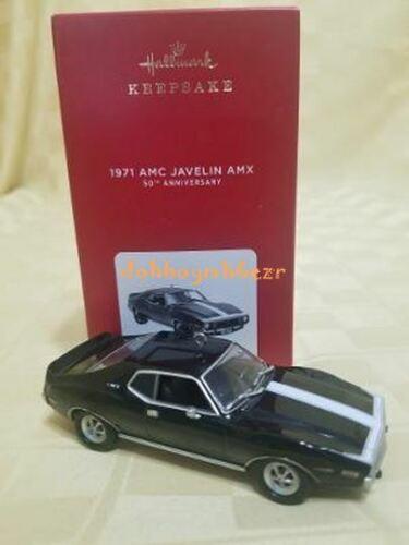 Hallmark 2021 1971 AMC Javelin AMX 50th Anniversary Ltd Qty Car Ornament YL