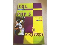 PHP and SQL in easy steps paperback books