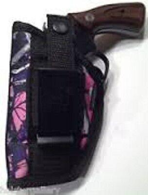 Muddy Girl Camo Gun holster For Taurus 38 Special 5 shot   - Girls For Gunslinger
