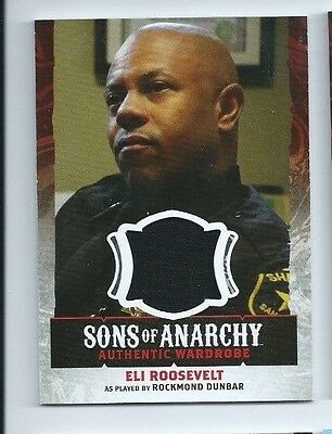 2015 Sons Of Anarchy Seasons 4 5 Costume Card W10