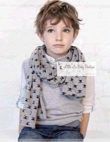 kids skull scarf