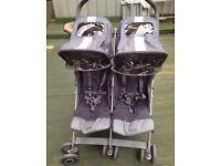 Maclaren double pushchair