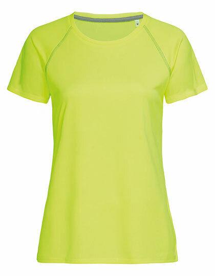 Damen Funktionsshirt kurzarm Sport T-Shirt atmungsaktiv schnelltrockend Mesh