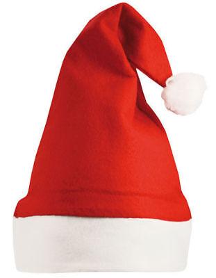 Nikolausmütze Weihnachtsmütze Santa Hat Nikolaus Hut Weihnachtsmann Geschenk NEU ()