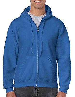 Gildan Heavy Blend™ Full Zip Hooded Sweatshirt S - 5XL G18600 (C) - Heavy Full Zip Sweater