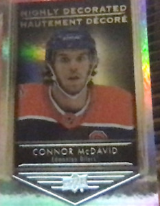 Connor McDavid Highly Decorated Tim Hortons 2019