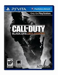 Near new PS Vita Call of Duty black ops