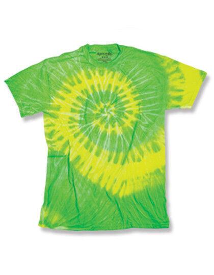 NEON T-Shirt Waveshirt in 2 verschiedenen Farben erhältlich, Batikshirt