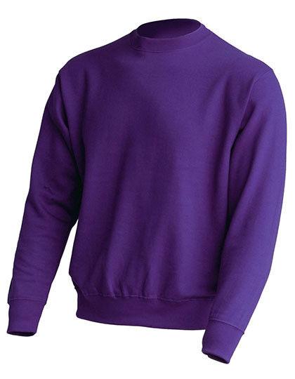 Basic Sweat Sweatshirt Pullover Damen Herren 20 Farben Freizeit Büro Gr.S-3XL