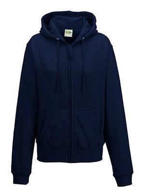 Just Hoods Damen Kapuzenjacke Zip-Hoodie GIRLIE ZOODIE XS S M L XL Neu JH055