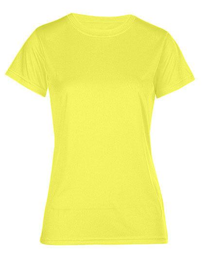 Damen Sportshirt Funktionsshirt Kurzarm Promodoro Laufshirt Rundhals S – 3XL