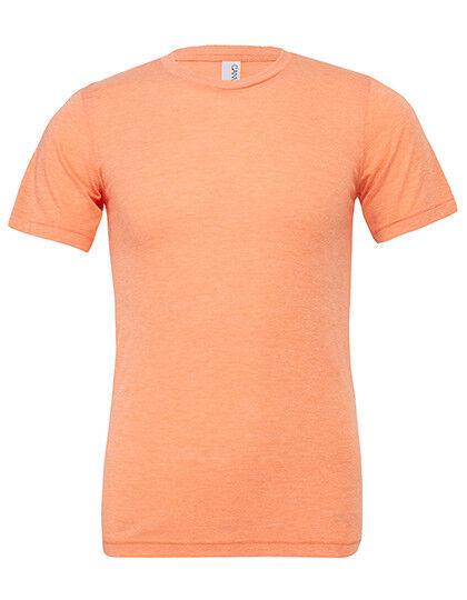 Bella + Canvas Unisex Triblend Crew Neck T-Shirt Damen & Herren CV3413 (S)