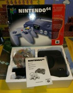 Nintendo 64, Complete in Box and Excellent Condition + 2 Control