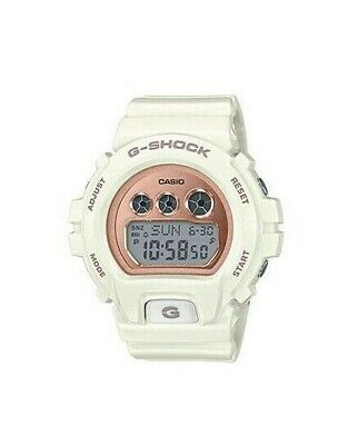 Casio G-Shock Women's Quartz World Time Alarm 46mm White Watch GMD-S6900MC-7