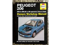 Haynes Peugeot 206 manual