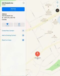 Parking space for rent near MUN campus (May-August 2019)