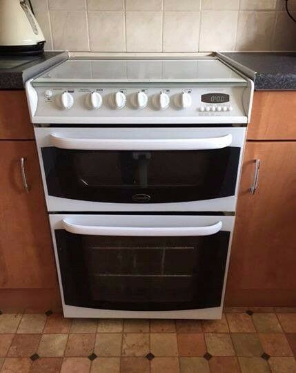Cannon Gas cooker chichester can be delivered double oven