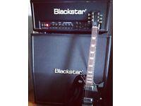 Blackstar HT100 and 412a cab
