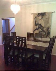 Dining table and Chairs Wattle Grove Liverpool Area Preview