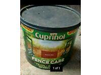 Massive 12.5 litre cuprinol fence paint NEW UNOPENED