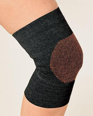 Copper Infused Knee Sleeve Support Copper Threads Woven Free Shipping NEW Health & Beauty