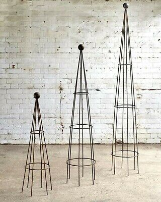 medium metal obelisk / plant supports/ garden stakes/ plant stand clematis roses