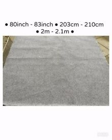 BRAND NEW grey carpet twist thick carpet