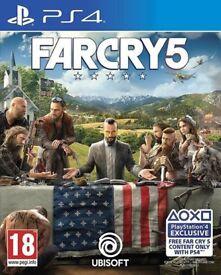 Far cry 5 + Far cry 4 PS4