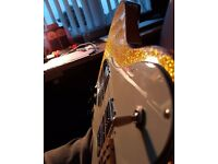 Fender Telecaster Deluxe 1972 re-issue in Las Vegas Gold Flake