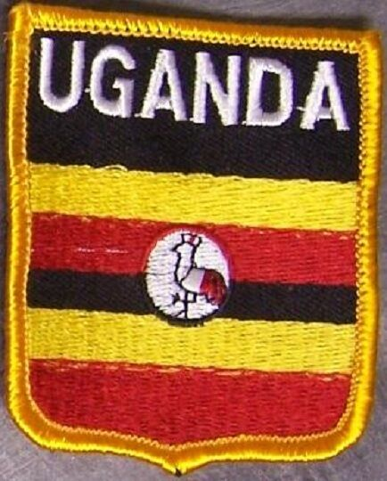 Embroidered International Patch National Flag of Uganda NEW bunting