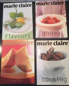 Marie Claire by Donna Hay Cook Books EUC $10 each Belrose Warringah Area Preview