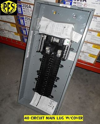 NEW SQUARE D QO140L200G W/COVER  200 AMP MLO SINGLE PHASE INDOOR LOAD CENTER