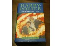 harry potter first edition book