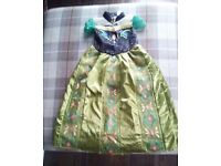 Anna Disney Costume Age 7-8