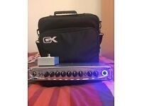 Gallien Krueger MB500 with Footswitch and Gig Case